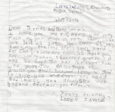Lorens Brief